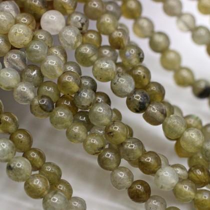 Natural Labradorite Gemstone Beads, Stone Bead, 3mm, Smooth Round, Diy, L3-05827